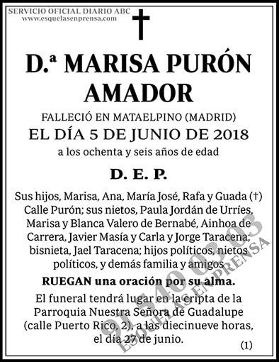Marisa Purón Amador